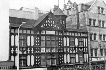 Weaver to Wearer Ltd., tailors, No. 25 Haymarket with A. Davy and Sons Ltd. Cafe extreme right