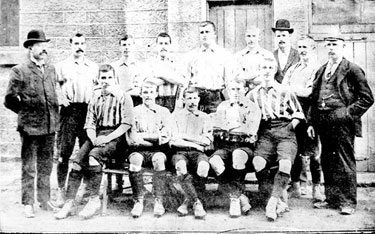 Sheffield United Football Team, Winners of English Cup, 1898/9