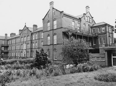 St. Elizabeth's Home for the Aged (run by the Little Sisters of the Poor), Heeley Bank Road
