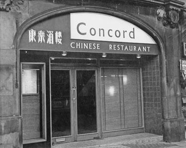 Concord Chinese Restaurant, No. 106, Norfolk Street