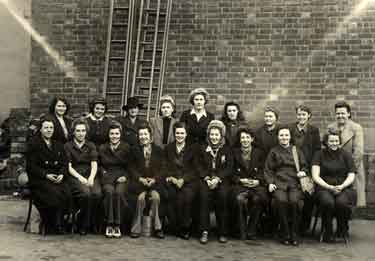 Mrs Burkinshaw and the �Lady Surveyors�, Sheffield City Council Lighting Department