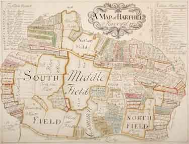 Map of Harthill