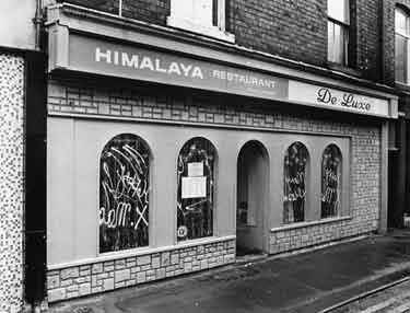 Himalaya Indian Restaurant, Convent Walk
