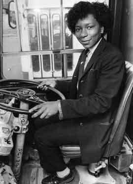 Maxine Duffus, Sheffield's first black woman bus driver