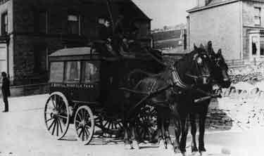 Funeral hearse, J. Bovill, funeral directors, Norfolk Park