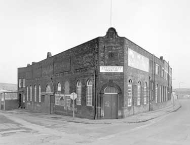 Steadfast Tools Ltd, with Greenland Road on the right