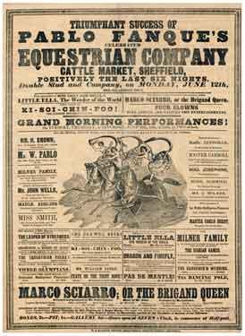 Pablo Fanque's Equestrian Company, Cattle Market