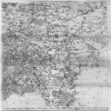 Map of the County of Yorkshire, surveyed 1767-1770 by Thomas Jefferys