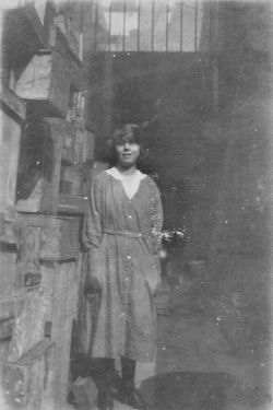 Employee, Geo. Thos. Wilkinson (GTW) Newsholme, Chemist, No. 74 High Street (corner with Change Alley)