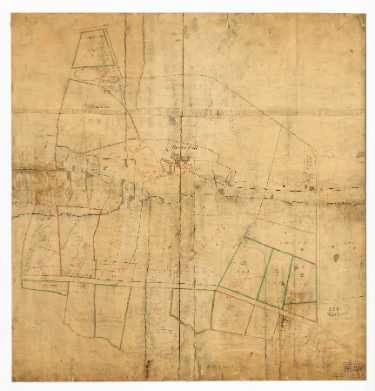 Broom Hall estate, with the names of the purchasers of some of the lots, [1810]