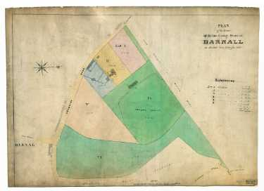 Plan of the estate of the late George Steer as divided into lots for sale, [1831]