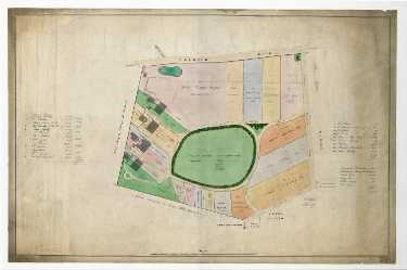 The Endcliffe Building Company's land as finally divided [Endcliffe Crescent], c. 1830