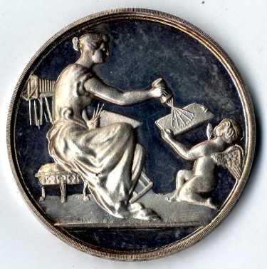 The Photographic News medal presented by the Sheffield Photographic Society to H. G. Paterson