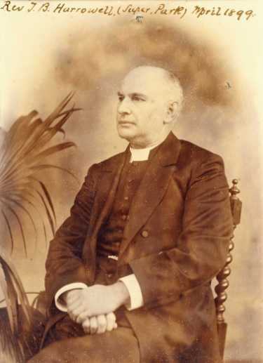 Rev. Thomas B. Harrowell, Wesleyan minister and Superintendent of the Sheffield Park Circuit