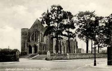 Psalter Lane Methodist Church, No. 31 Psalter Lane