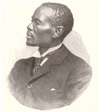 Chief Khama, of Bechuanaland (later Botswana), c. 1895