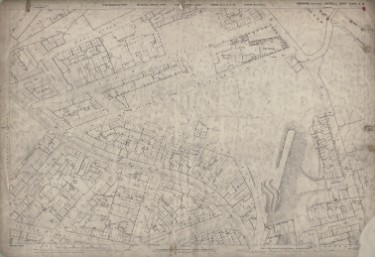 Ordnance Survey Map, sheet no. Yorkshire 294-3-13-2 (full sheet)
