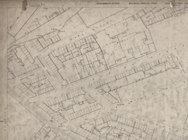 Ordnance Survey Map, sheet no. Yorkshire 294-3-13-2 (north west)