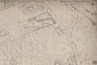 Ordnance Survey Map, sheet no. Yorkshire 294-3-13-2 (north east)