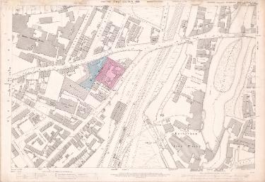 Ordnance Survey Map, sheet no. Yorkshire 289-11-6 (full sheet)