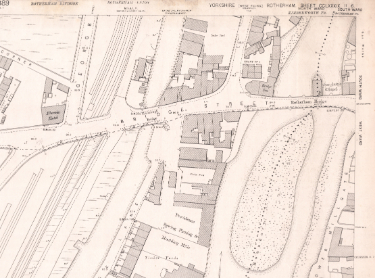 Ordnance Survey Map, sheet no. Yorkshire 289-11-6 (north east)