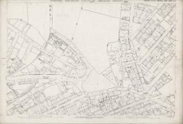 Ordnance Survey Map, sheet no. Yorkshire 294-3-17 (full sheet)