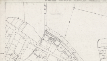 Ordnance Survey Map, sheet no. Yorkshire 294-3-17 (north west)