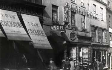 T. B. and W. Cockayne Ltd., department store and the Angel Hotel, Angel Street