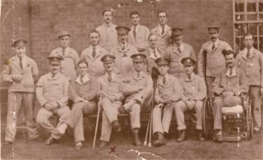 Wharncliffe War Hospital, 18 decorated men out of one ward