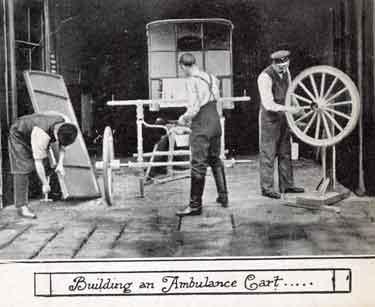 Construction of an ambulance cart