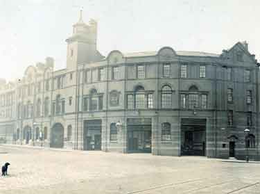 City of Sheffield Fire Brigade. West Bar Police and Fire Station