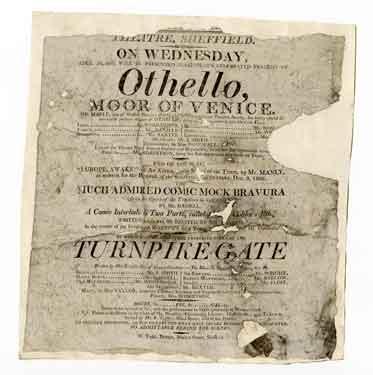 Sheffield Theatre - Othello