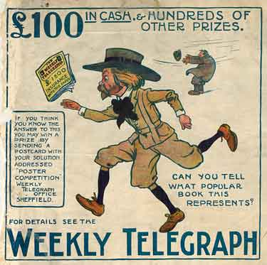 Sheffield Weekly Telegraph poster: competition