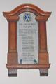 View: a00445 World War I memorial, Clifford School, Psalter Lane