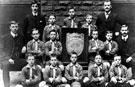 View: s00128 Burgoyne Road School football team in 1907.