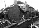 Archibald Road, Nether Edge, houses damaged in air raid