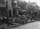Sandford Grove Road, Houses damaged in air raid