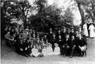 Excursion for Sheffield Smelting Co. Ltd.'s employees, party including Mr. Walter Hazel and Councillor Jim Peck
