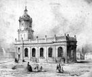 St. Paul's Church, Pinstone Street, Engraving