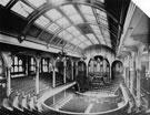 Interior of Victoria Hall, Norfolk Street