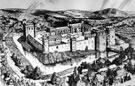 Artist's Impression of Sheffield Castle around 1100