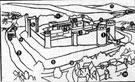 View: s05127 Artist's Impression of Sheffield Castle around 1100