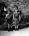 Children from Manor School, Empire Day