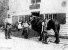 John Bly's blacksmith shop, Lydgate Lane (at junction with Tapton Hill Road)