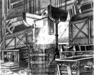 Steel Industry, Tapping a furnace into ladles