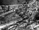 Aerial View - Laverdene Estate, Bradway / Totley including Laverdene Avenue and Queen Victoria Road, foreground, Glover Road, centre and Baslow Road in background