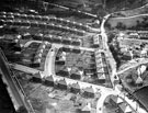 Aerial View - Laverdene Estate, Bradway / Totley