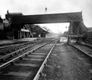 Oughtibridge Railway Station (also known as Oughty Bridge), Great Central Railway, then called Oughty Bridge Station