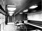Foyer and Lounge at Rex Cinema, junction of Mansfield Road and Hollybank Road, Intake. Opened 24 July 1939. Designed by Hadfield and Cawkwell, seated 1350. Closed December 1982 and demolished October 1983