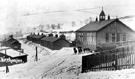 Birchinlee Village and School postmarked 1906